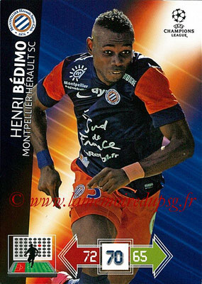 2012-13 - Adrenalyn XL champions League N° 163 - Geoffray JOURDREN (Montpellier HSC)