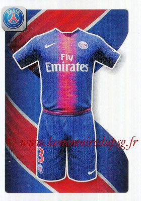 2018-19 - Panini Ligue 1 Stickers - N° 374 - Maillot Paris Saint-Germain