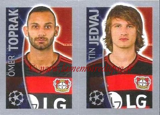 2015-16 - Topps UEFA Champions League Stickers - N° 333 - Omer TOPRAK + Tin JEDVAJ (Bayer 04 Leverkusen)