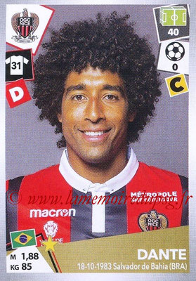 2017-18 - Panini Ligue 1 Stickers - N° 340 - DANTE (Nice)