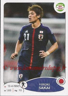 2014 - Panini Road to FIFA World Cup Brazil Stickers - N° 402 - Hiroki SAKAI (Japon)