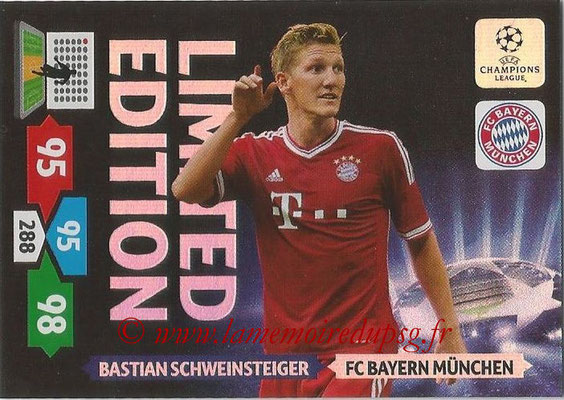 2013-14 - Adrenalyn XL champions League N° LE15 - Bastian SCHWEINSTEIGER (FC Bayern Munich) (Limited Edition)