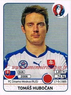Panini Euro 2016 Stickers - N° 219 - Tomas HUBOCAN (Slovénie)