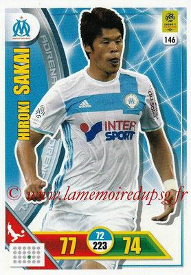 2017-18 - Panini Adrenalyn XL Ligue 1 - N° 146 - Hiroki SAKAI (Marseille)