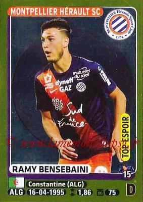 2015-16 - Panini Ligue 1 Stickers - N° 283 - Ramy BENSEBAINI (Montpellier Hérault SC) (Top espoir)