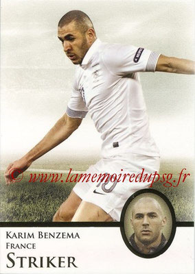 2013 - Futera World Football Unique - N° 066 - Karim BENZEMA (France) (Striker)