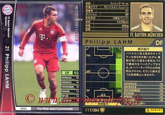 2012-13 - WCCF - N° 117 - Philipp LAHM (FC Bayern Munich)