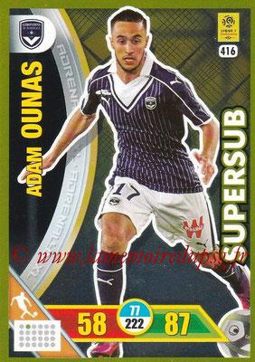 2017-18 - Panini Adrenalyn XL Ligue 1 - N° 416 - Adam OUNAS (Bordeaux) (Supersub)