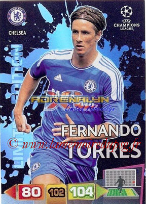 2011-12 - Panini Champions League Cards - N° LE21 - Fernando TORRES (Chelsea FC) (Limited Edition)