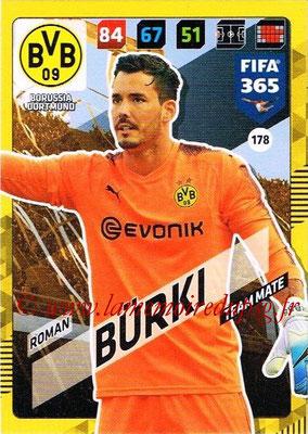 2017-18 - Panini FIFA 365 Cards - N° 178 - Roman BÜRKI (Borussia Dortmund)