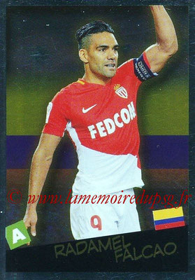 2017-18 - Panini Ligue 1 Stickers - N° 536 - Radamel FALCAO (Monaco + Colombie) (Planète Ligue 1)