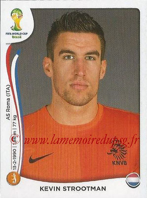 2014 - Panini FIFA World Cup Brazil Stickers - N° 137 - Kevin STROOTMAN (Pays-Bas)