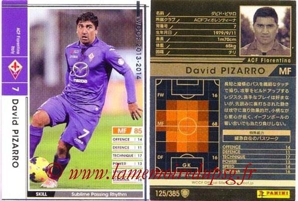2013-14 - WCCF - N° 125 - David PIZARRO (ACF Fiorentina)
