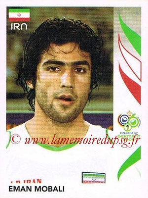 2006 - Panini FIFA World Cup Germany Stickers - N° 274 - Eman MOBALI (Iran)
