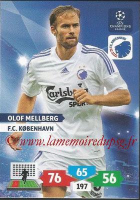 2013-14 - Adrenalyn XL champions League N° 157 - Olof MELLBERG (FC Kobenhavn)