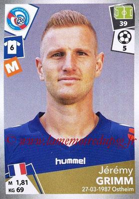 2017-18 - Panini Ligue 1 Stickers - N° 453 - Jérémy GRIMM (Strasbourg)