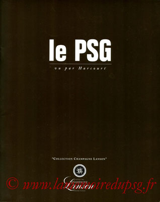 1995-04-xx -  Le PSG vu par Harcourt (Collection Champagne Lanson, 28 pages)
