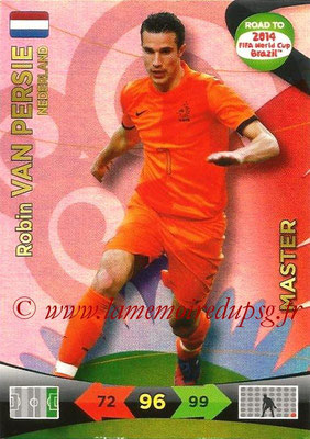 2014 - Panini Road to FIFA World Cup Brazil Adrenalyn XL - N° 229 - Robin VAN PERSIE (Pays-Bas) (Master)