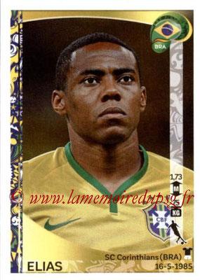 Panini Copa America Centenario USA 2016 Stickers - N° 124 - ELIAS (Brésil)