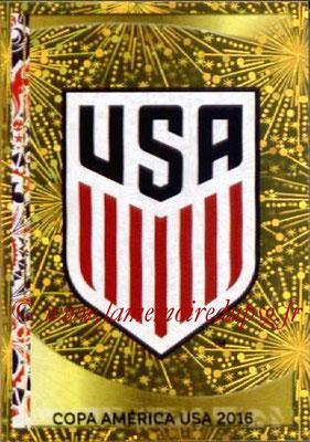 Panini Copa America Centenario USA 2016 Stickers - N° 014 - Logo USA