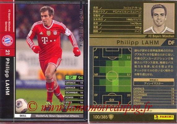 2013-14 - WCCF - N° 100 - Philipp LAHM (FC Bayern Munich)
