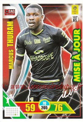 2017-18 - Panini Adrenalyn XL Ligue 1 - N° 107bis - Marcu THURAM (Guingamp) (Mise à jour)
