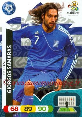 Panini Euro 2012 Cards Adrenalyn XL - N° 101 - Giorgos SAMARAS (Grèce)