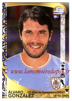 Panini Copa America Centenario USA 2016 Stickers - N° 243 - Alvaro GONZALEZ (Uruguay)