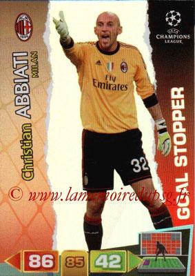 2011-12 - Panini Champions League Cards - N° 288 - Christian ABBIATI (Milan AC) (Goal Stopper)