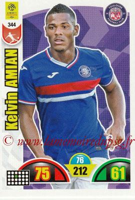 2018-19 - Panini Adrenalyn XL Ligue 1 - N° 344 - Kelvin AMIAN (Toulouse)