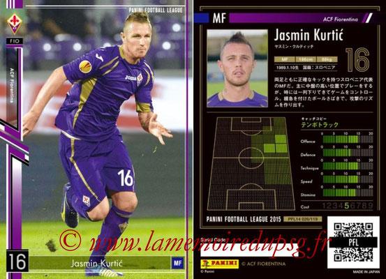 Panini Football League 2015 - PFL14 - N° 026 - Jasmin KURTIC (ACF Fiorentina)