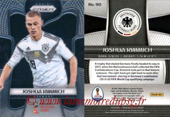 2018 - Panini Prizm FIFA World Cup Russia - N° 090 - Joshua KIMMICH (Allemagne)