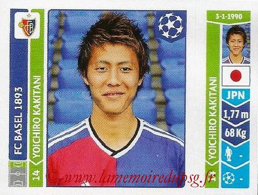 2014-15 - Panini Champions League N° 144 - Yoichiro KAKITANI (FC Bâle)
