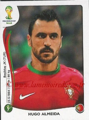 2014 - Panini FIFA World Cup Brazil Stickers - N° 525 - Hugo ALMEIDA (Portugal)