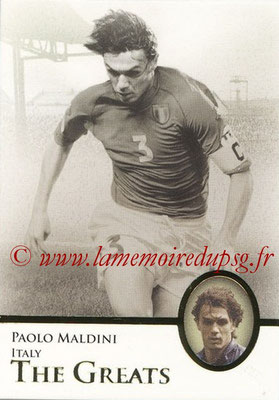 2013 - Futera World Football Unique - N° 111 - Paolo MALDINI (Italie) (The Greats)
