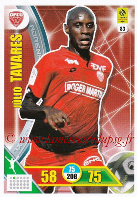 2017-18 - Panini Adrenalyn XL Ligue 1 - N° 083 - Julio TAVARES (Dijon)