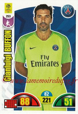 2018-19 - Panini Adrenalyn XL Ligue 1 - N° 253 - Gianluigi BUFFON (Paris Saint-Germain)