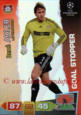 2011-12 - Panini Champions League Cards - N° 279 - René ADLER (Bayer 04 Leverkusen) (Goal Stopper)