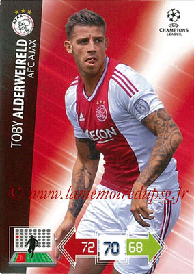 2012-13 - Adrenalyn XL champions League N° 003 - Toby ALDERWEIRELD (AFC Ajax)