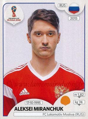 2018 - Panini FIFA World Cup Russia Stickers - N° 041 - Aleksei MIRANCHUK (Russie)