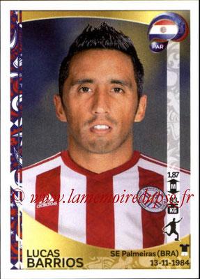 Panini Copa America Centenario USA 2016 Stickers - N° 107 - Lucas BARRIOS (Paraguay)