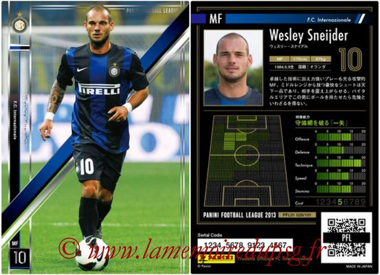 Panini Football League 2013 - PFL01 - N° 028 - WesleySneijder ( F.C. Internazionale )