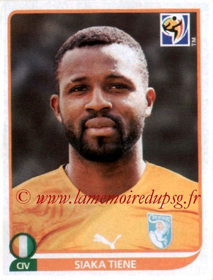 N° 532 - Siaka TIENE (2010, Cote d'Ivoire > 2010-13, PSG)