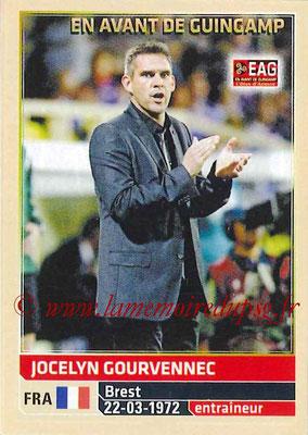 2014-15 - Panini Ligue 1 Stickers - N° 100 - Jocelyn GOURVENNEC (EA Guingamp) (Entraîneur)