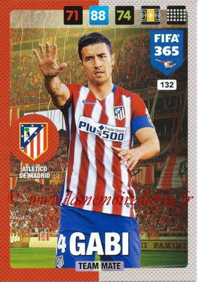 2016-17 - Panini Adrenalyn XL FIFA 365 - N° 132 - GABI (Atletico de Madrid)