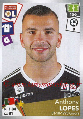 2017-18 - Panini Ligue 1 Stickers - N° 183 - Anthony LOPES (Lyon)