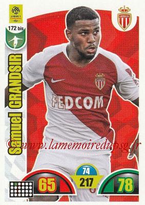 2018-19 - Panini Adrenalyn XL Ligue 1 - N° 172 bis - Samuel GRANDSIR (Monaco)