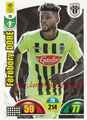2018-19 - Panini Adrenalyn XL Ligue 1 - N° 029 - Férébory DORE (Angers)