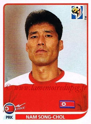 2010 - Panini FIFA World Cup South Africa Stickers - N° 512 - Nam SONG-CHOL (Corée du Nord)