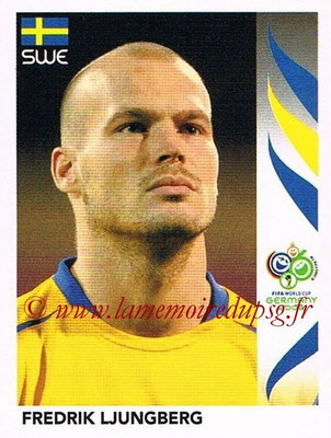 2006 - Panini FIFA World Cup Germany Stickers - N° 161 - Fredrik LJUNGBERG (Suède)